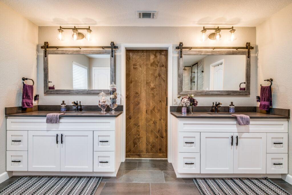 dfw improved vanity bathroom remodel