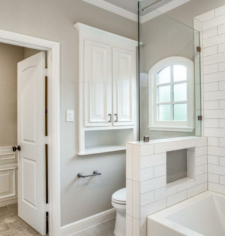 primary suite bathroom renovation in southlake tx