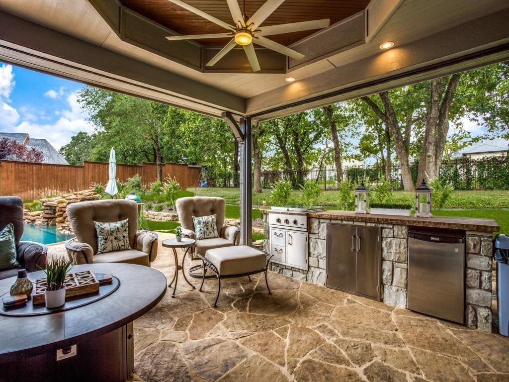 outdoor living remodel in colleyville tx
